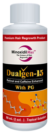 Dualgen minoxidil 15